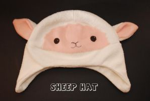 Sheep Hat by CraftyFeawen