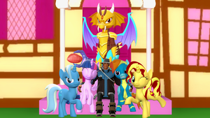 My Favorite Characters from MLP:FiM by fusionguybrony