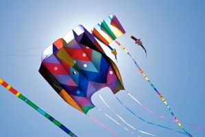 Homemade Kites by weRDunfo