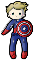 Captain America by RingoYan