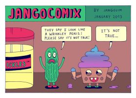 JANGO COMIX - PICKLE by laresistance