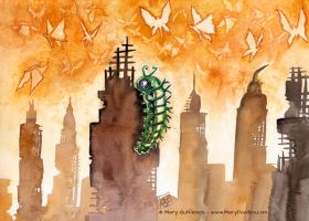 Rise of the Butterflies by MaryDoodles