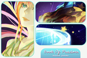Book Of Pandora - Charity Artbook Preview by sakonma