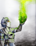 Gift - The  Elven Inquisitor by Marinta