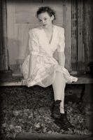 1920's Housewife by MorbidKittyCorpse