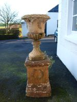 Large Stone Vase Stock by Lucy-Stock
