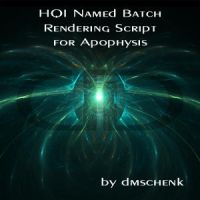 HQI Named Batch Render Script by Apophysis