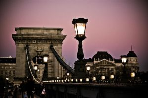 twilight in budapest by torobala