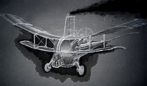 steamplane unfinished by croustipote