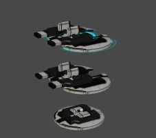 Assault Turret (Andromeda) by nach77