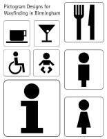 Pictogram Designs by hayleyb28