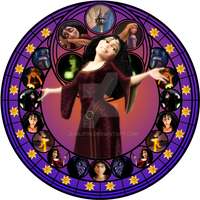 Gothel stained glass by jeorje90