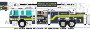 Psycho Spade Labs Fire Dept. Tower 1 by MisterPSYCHOPATH3001