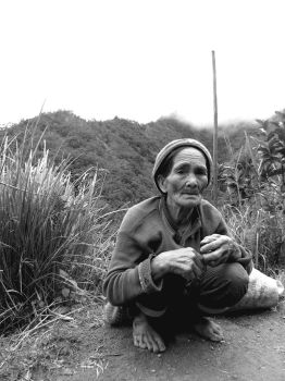 Old Woman from Banaue by casestudy28