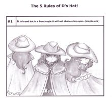 The Rules of D's Hat: 1 by E1L0n3wy