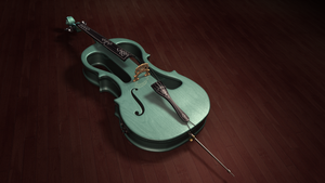Electric Cello by Cupcakes-lover