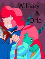 Wiltsey and Orla by eirienkun
