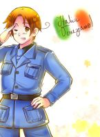 Hetalia: Italia Veneziano! (coloured) by NessieMcCormick