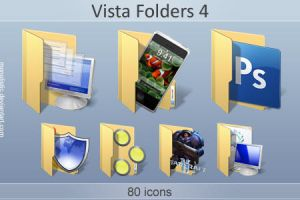 Vista Folders 4 by monolistic