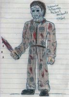 color-RZH1 Michael Myers by viperdragon2
