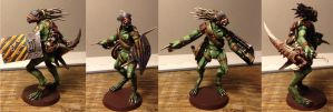 Inquisitor Scale Kroot Mercenary by Solomon-Mordecai