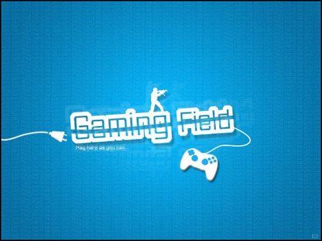 Gaming field wallpaper by CrunkyJuice