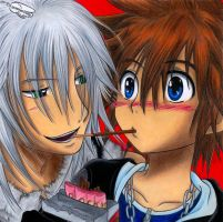 Come on Sora, let's share this! by Xx-Syaoran-kun-xX