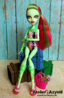 Monster High: Sunbather Venus by Azyntil