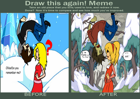 Draw this Again Meme....AT by BillyBCreationz