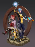 Borderlands 2 Fan Art by Yizard