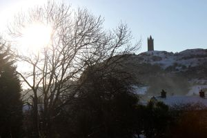 Scrabo Tower at winter by Living-Life-Loud