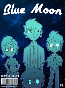 Blue Moon Issue 1 Cover by Pyroesque