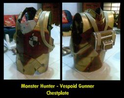 MH - Vespoid Gunner Chest by pink-fishy