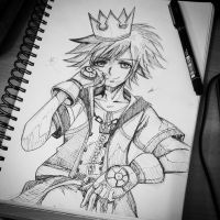 Sora from Kingdom Hearts by tienniee