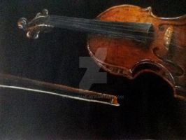 Violin by BreannaE