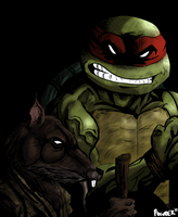 Splinter And Son by PowderAkaCaseyJones