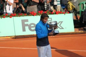 Rafa and Roland Garros by Bruce-Pictures