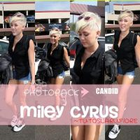 CANDID - PHOTOPACK MILEY CYRUS by tutosLaruFiore