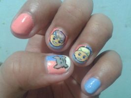 sup3rfruit ver.2 nails by blackyuna