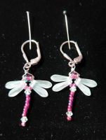 Dragonfly Earrings by LibertineM