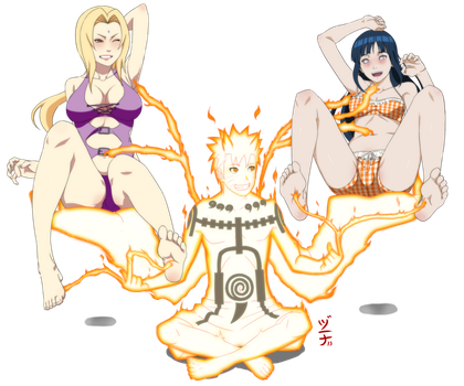 Commission - Naruto Tickles by dannex009