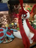 Milotic Plush by Vulpes-Canis