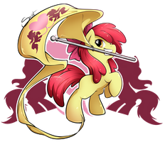 A chance to be awesome - Applebloom by secret-pony