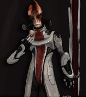 Mordin Solus by TuftTail