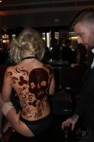 Chocolate Body Painting #7 by TJPemble