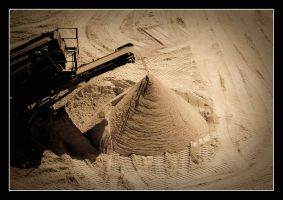 ...sand factory... by Alamanthe