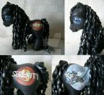 My little Pony Custom Serenity by BerryMouse