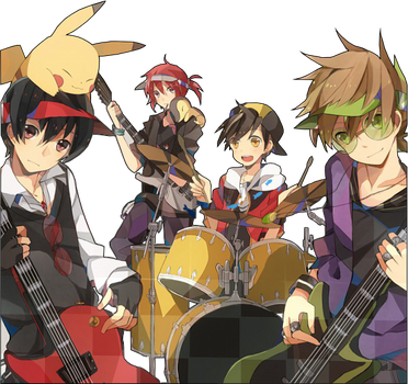 Pokemeon Band Render by KnightsWalker912