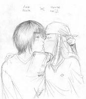 NejixLee: Such a sweet kiss by nejileeclub