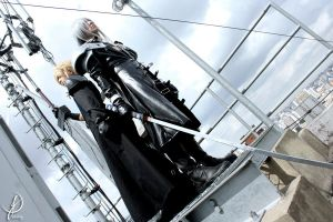 Cloud and Sephiroth by JuTsukinoOfficial